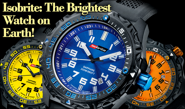 Isobrite T100 Tritium Watch