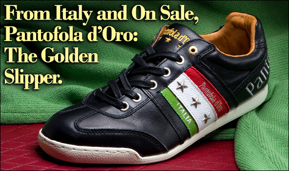 Pantofola d'Oro 'Golden Slipper' Sport Shoe