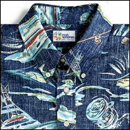 Reyn Spooner Rigger's Pursuit Aloha Shirt