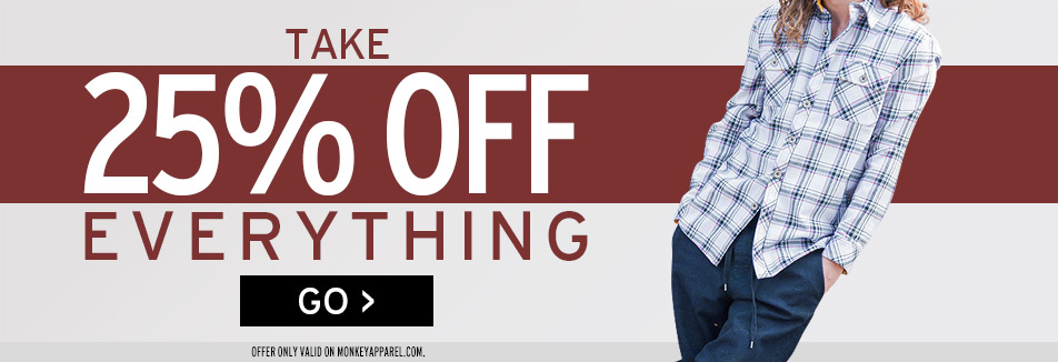Monkey Sport Apparel by Pepper Foster - MNKY Apparel Sale