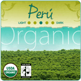 Organic Peru 'Andes Gold' Coffee
