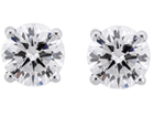The classic and timeless diamond stud earrings