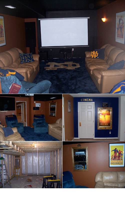 notre dame home theater