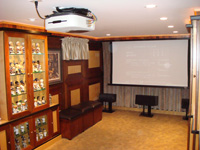 amber room home theater
