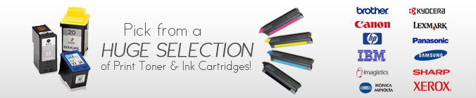 Print Toner and Ink Cartridges