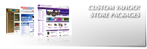 Custom Yahoo! Store Packages