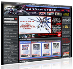 Gundam Store and More
