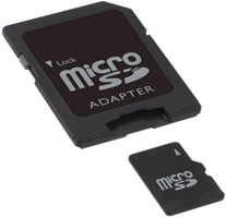 Garmin HomePort and MicroSD/SD