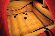 Revere Coastal Elite Life Raft Interior
