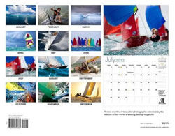 2013 SAIL 'Around the World' Calendar