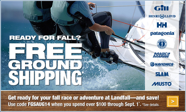 Landfall Navigation® Marine Safety & Nautical Charts Chandlery Sign up for the Landfall Report E-Newsletter