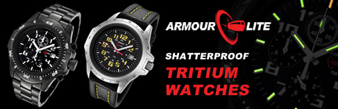 Armourlite Tritium Watches