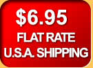 Flat Rate Shipping Within the USA