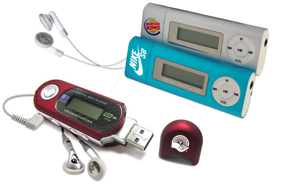 Custom MP3 players