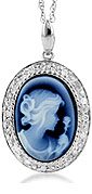 traditional and victorian cameo jewelry and pendants