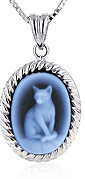 pets and animals cameo jewelry and pendants