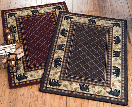 Bear Retreat Rugs