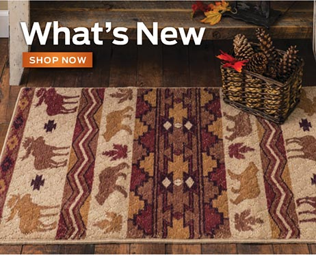 New Cabin Decor Rugs