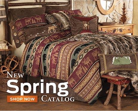 New Rustic Bedding