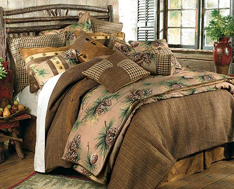 Crestwood Pinecone Bedding Collection