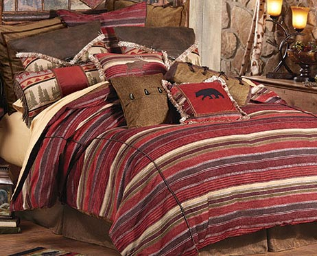 Boulder Creek Cabin Bedding Collection