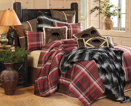 Lodge Retreat Plaid Bedding Collection