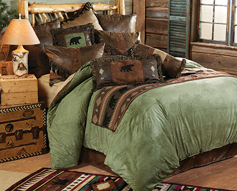 Pine Lodge Bear Bedding Collection