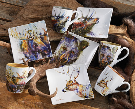 Wildlife Snack Plates