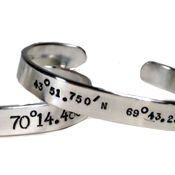 Latitude & Longitude Jewelry
