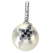 Paspaley Pearl & Sapphire Pendant