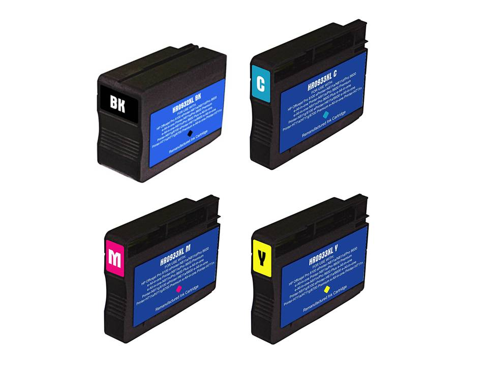 HP 932XL and 933XL Ink cartridges