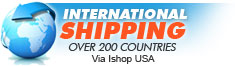 International Shipping provided by IshopUSA
