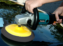 Use the gray Lake Country pad for the application of waxes, sealants, and glazes.