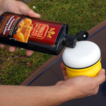 Use Pinnacle Paintwork Cleansing Lotion to clean the paint before applying Pinnacle Signature Series II Wax.