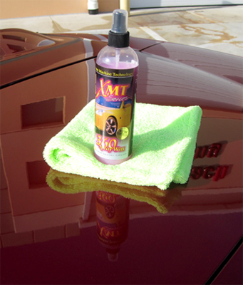 XMT 360 Spray Wax protects all types of paint.
