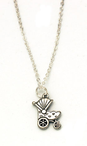 Carriage Charm Necklace