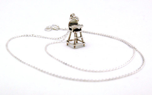 Highchair Charm Necklace