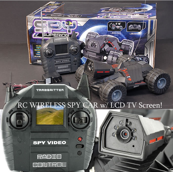 Rc Spy Camera Car