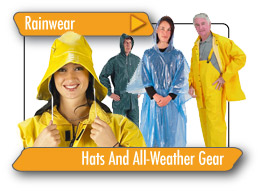 Rainwear, Hats And All-Weather Gear