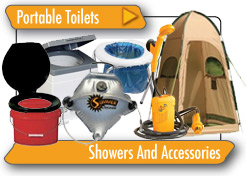 Portable Toilets, Showers and Accessories