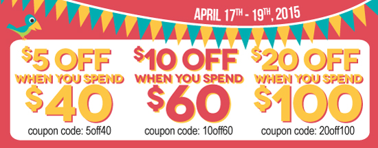 Save up to $20 this weekend only!