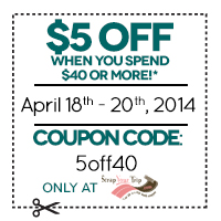 $5 off when you spend $40 or more! cc=5off40
