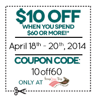 $10 off when you spend $60 or more! cc=10off60