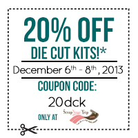 20% off Die Cut Kits! cc=20dck