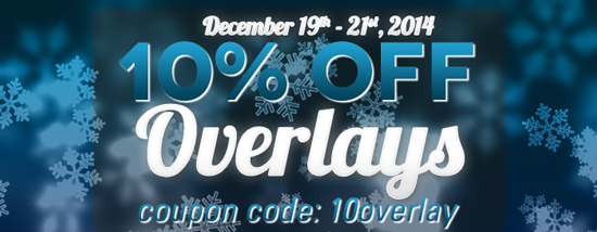10% off SYT Overlays! cc=15overlay