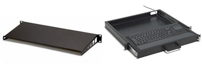 2 Post Rackmount Keyboard Trays