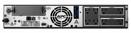 APC SMX1500RM2U Backview