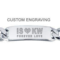 Custom Engraving on ID Bracelet