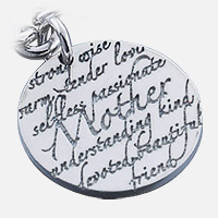 Mother Charm Inscription