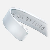 Men's Cuff Engraving